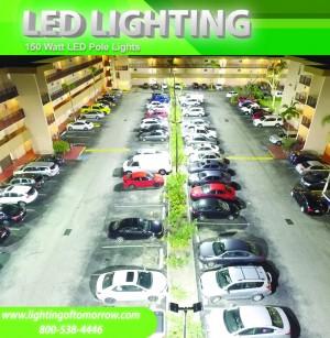 150 Watt LED Pole Light