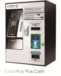 cash and credit debit kiosk